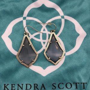 Kendra Scott Alex grey Earrings